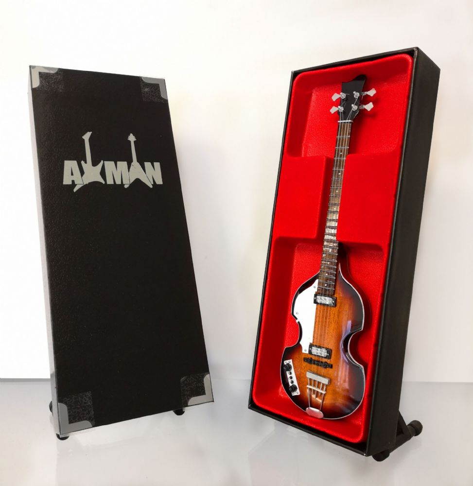 (Beatles) Paul McCartney: Violin Bass - Miniature Guitar Replica (UK Seller)